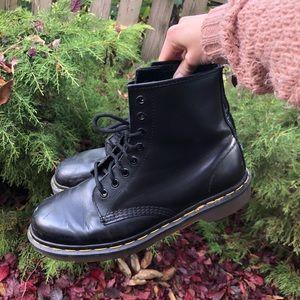 Black Leather Dr. Martens